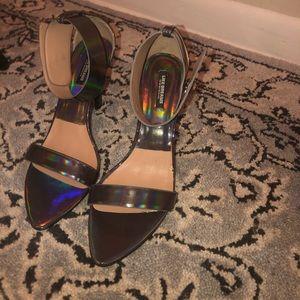 Shoes - Iridescent heels